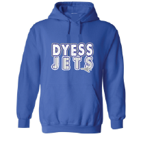 Dyess Jets - Stripes & Dots Hoodie