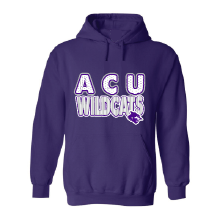 Abilene Christian University Wildcats - Stripes & Dots Hoodie