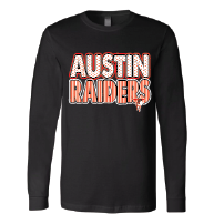 Austin Raiders - Stripes & Dots Long Sleeve T-Shirt