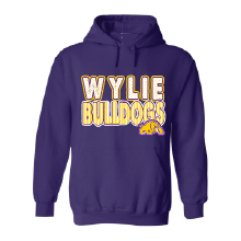 Wylie Bulldogs - Stripes & Dots Hoodie