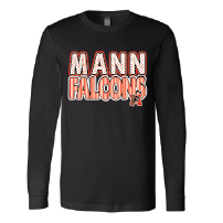 Mann Falcons - Stripes & Dots Long Sleeve T-Shirt