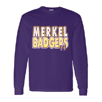Merkel Badgers - Stripes & Dots Long Sleeve T-Shirt