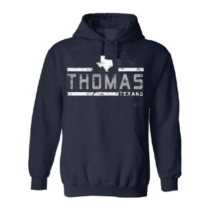 Thomas Texans - Striped Hoodie