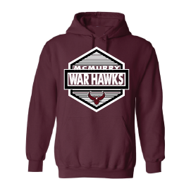McMurry University War Hawks - Hexagon Hoodie
