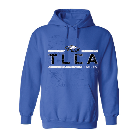 TLCA Eagles - Striped Hoodie