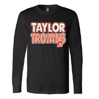 Taylor Trojans - Stripes & Dots Long Sleeve T-Shirt