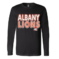 Albany Lions - Stripes & Dots Long Sleeve T-Shirt