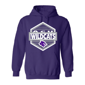 Abilene Christian University Wildcats - Hexagon Hoodie