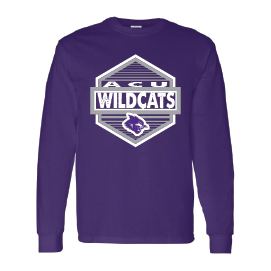 Abilene Christian University Wildcats - Hexagon Long Sleeve T-Shirt