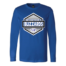 Winters Blizzards - Hexagon Long Sleeve T-Shirt