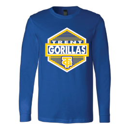 Trent Gorillas - Hexagon Long Sleeve T-Shirt
