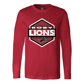 Roby Lions - Hexagon Long Sleeve T-Shirt