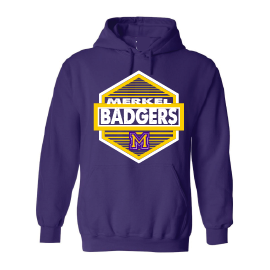 Merkel Badgers - Hexagon Hoodie