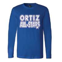 Ortiz All-Stars - Stripes & Dots Long Sleeve T-Shirt