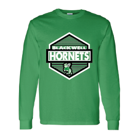 Blackwell Hornets - Hexagon Long Sleeve T-Shirt