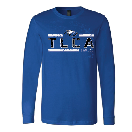 TLCA Eagles - Striped Long Sleeve T-Shirt