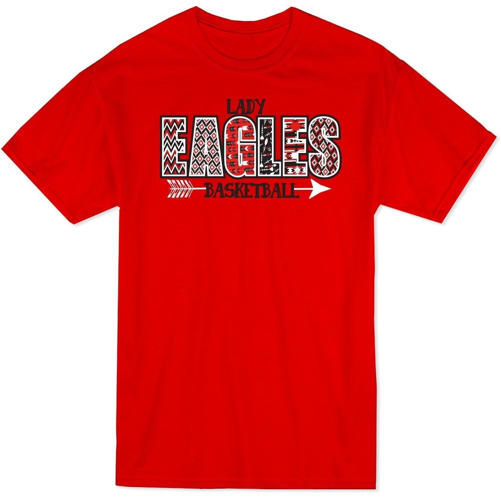 Basketball - Lady Eagles Aztec Letters
