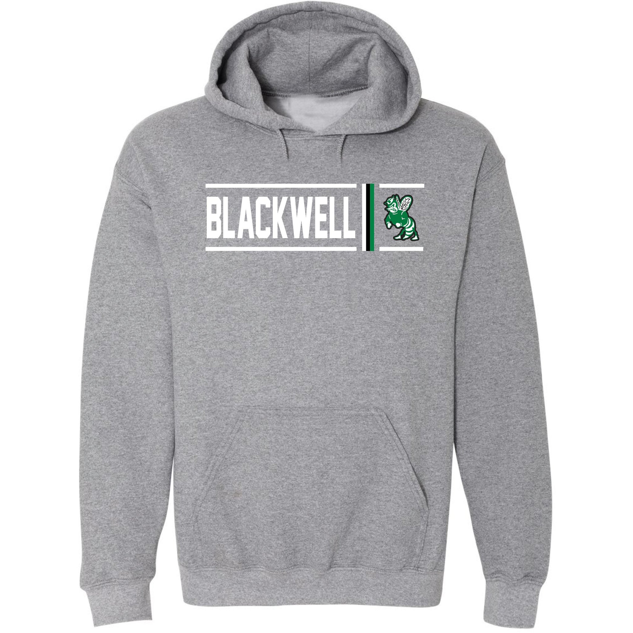 Blackwell Hornets - Simple Stripe Hoodie