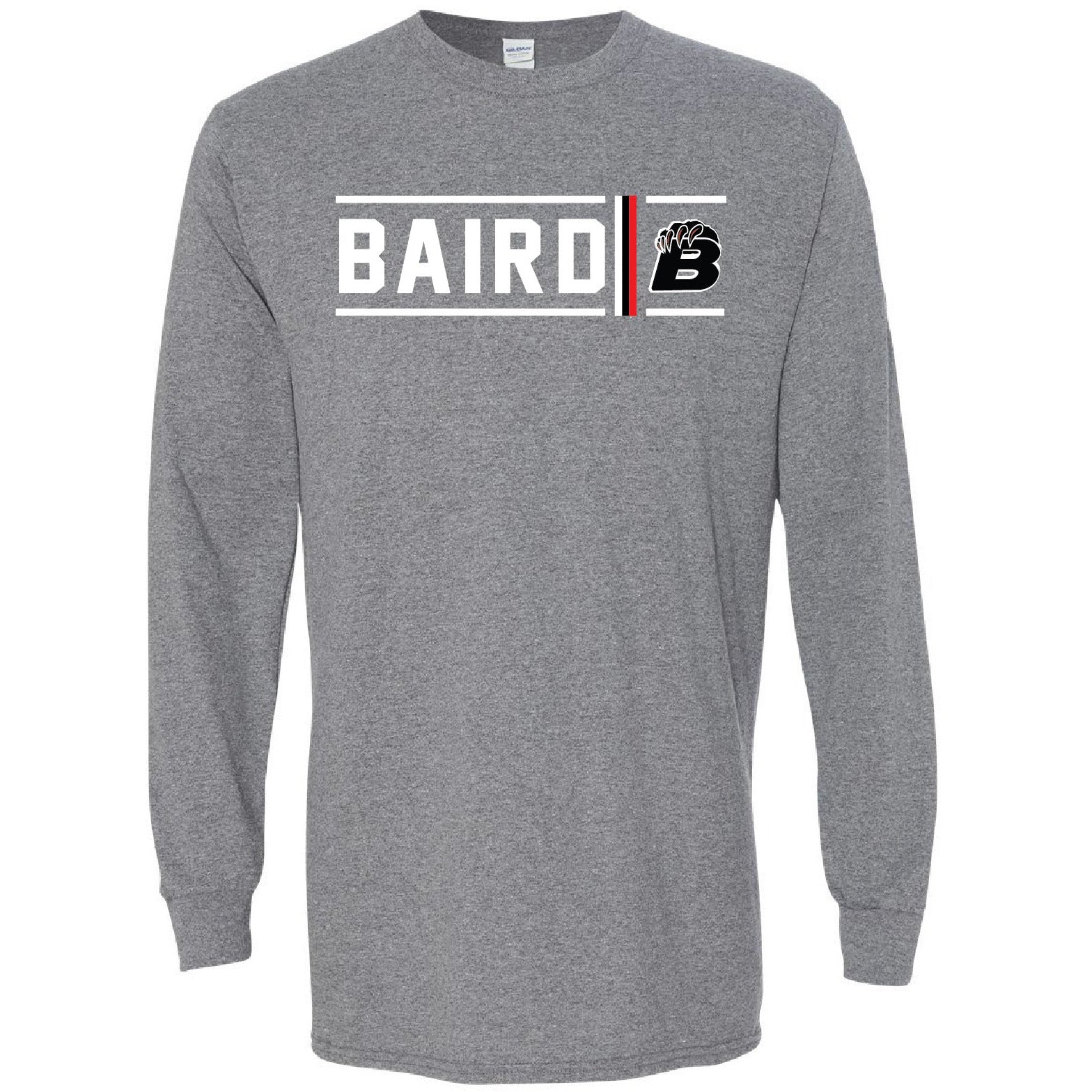 Baird Bears - Simple Stripe Long Sleeve T-Shirt