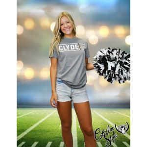 Clyde Bulldogs - Simple Stripe T-Shirt