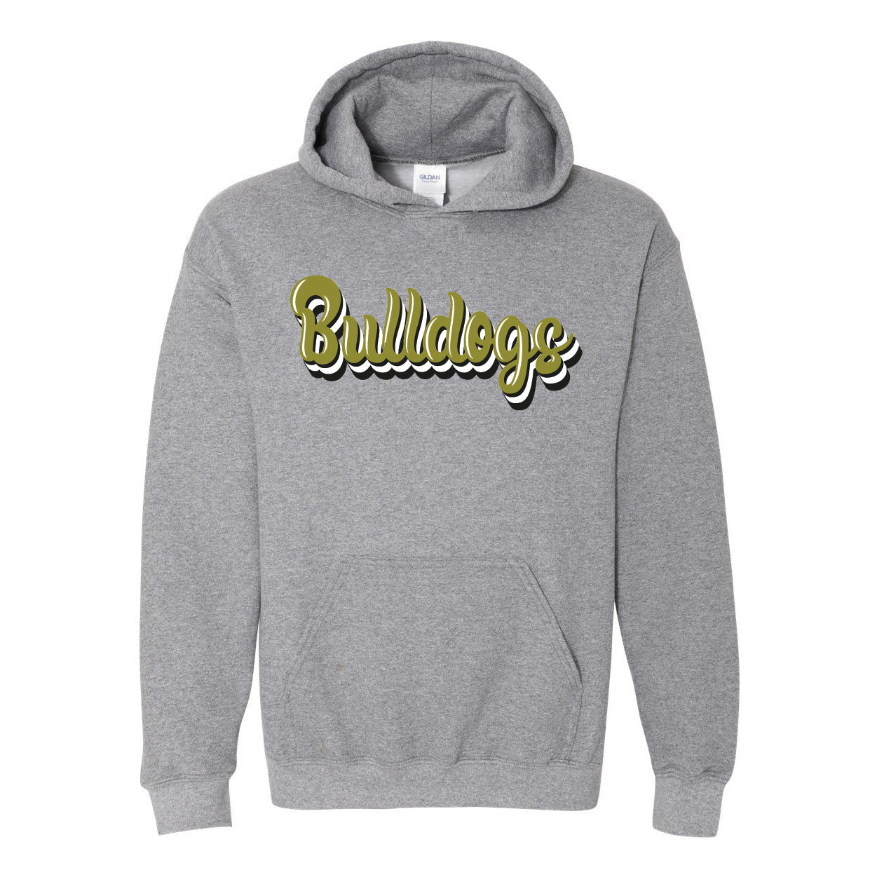 Clyde Bulldogs - Retro Hoodie