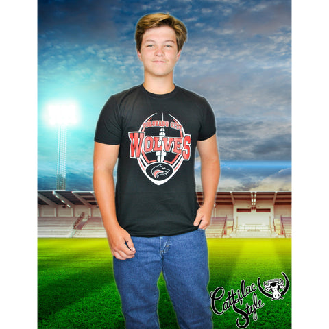 Colorado City Wolves - Football T-Shirt