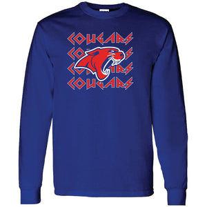 Cooper Cougars - Rock N Roll Long Sleeve T-Shirt