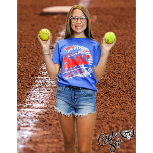Cooper Cougars - Softball T-Shirt
