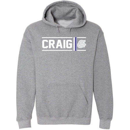Craig Colts - Simple Stripe Hoodie