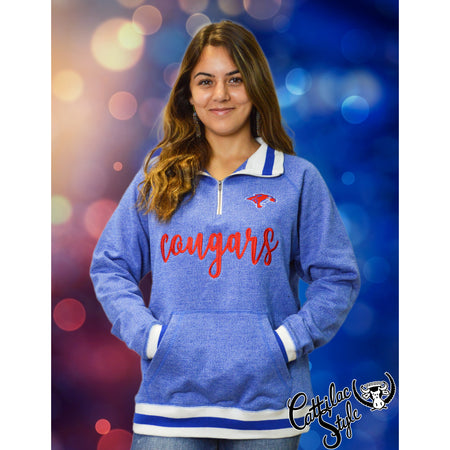 Cooper Cougars - Fleece Quarter Zip