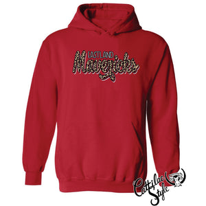 Eastland Mavericks - Animal Print Script Hoodie