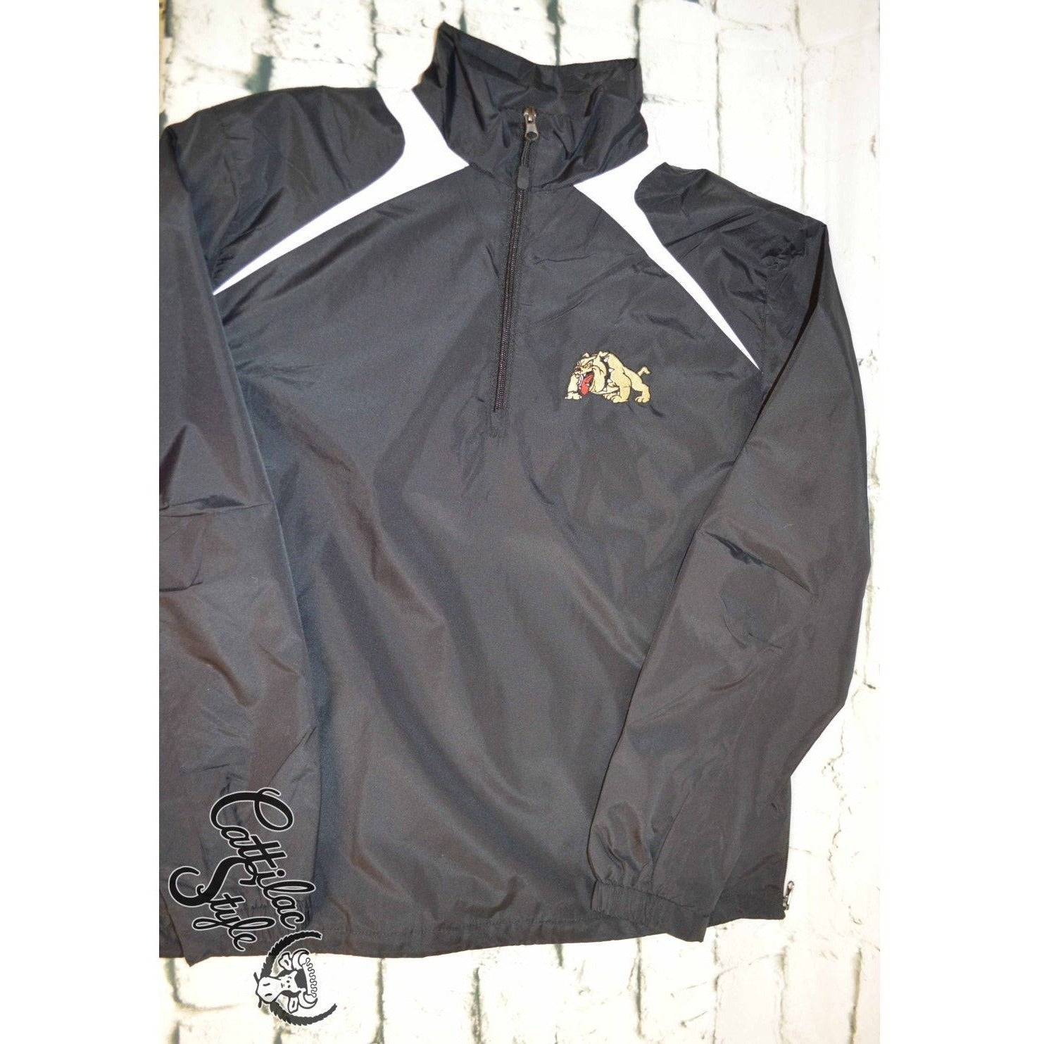 Clyde Bulldogs - 3/4 Zip Wind Jacket