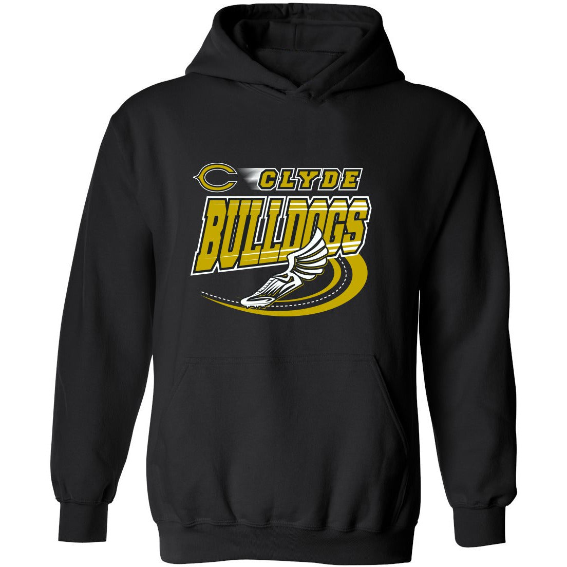 Clyde Bulldogs - Track Hoodie