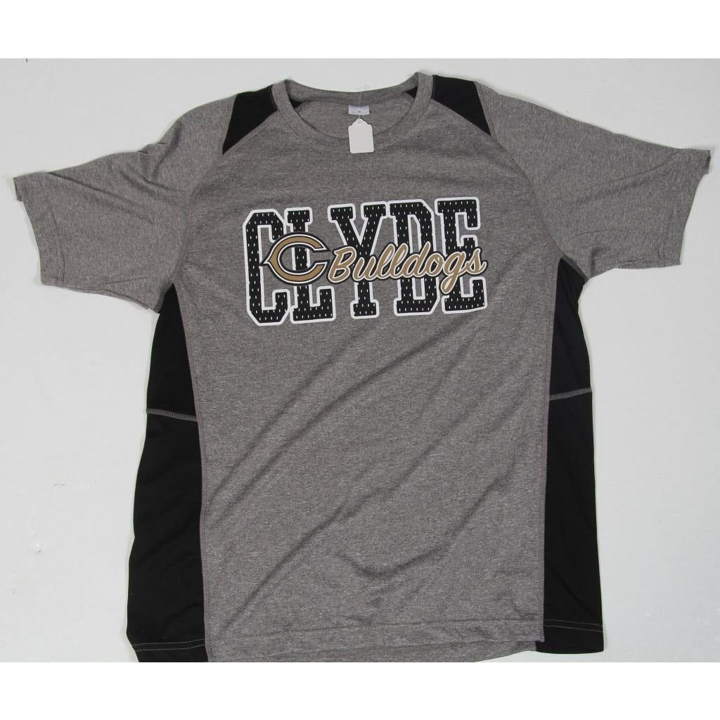 Clyde Bulldogs - Wicking T-Shirt