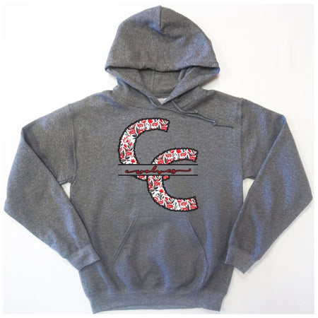 Colorado City Wolves - Stitched Flowers Hoodie