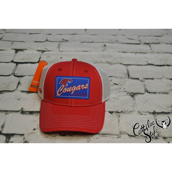 Cooper Cougars - Patch Mesh Cap