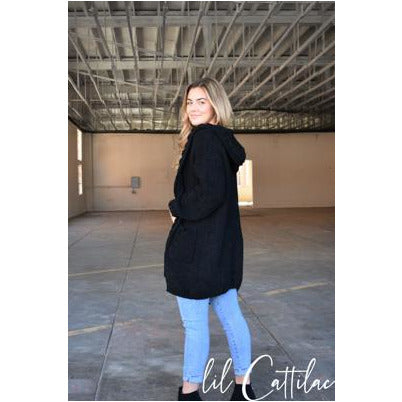 Ella Hooded Cardigan