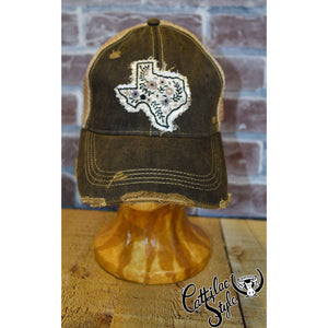 Texas Flowers Mesh Cap