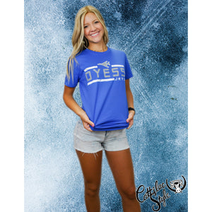 Dyess Jets - Striped T-Shirt