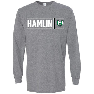 Hamlin Pied Pipers - Simple Stripe Long Sleeve T-Shirt