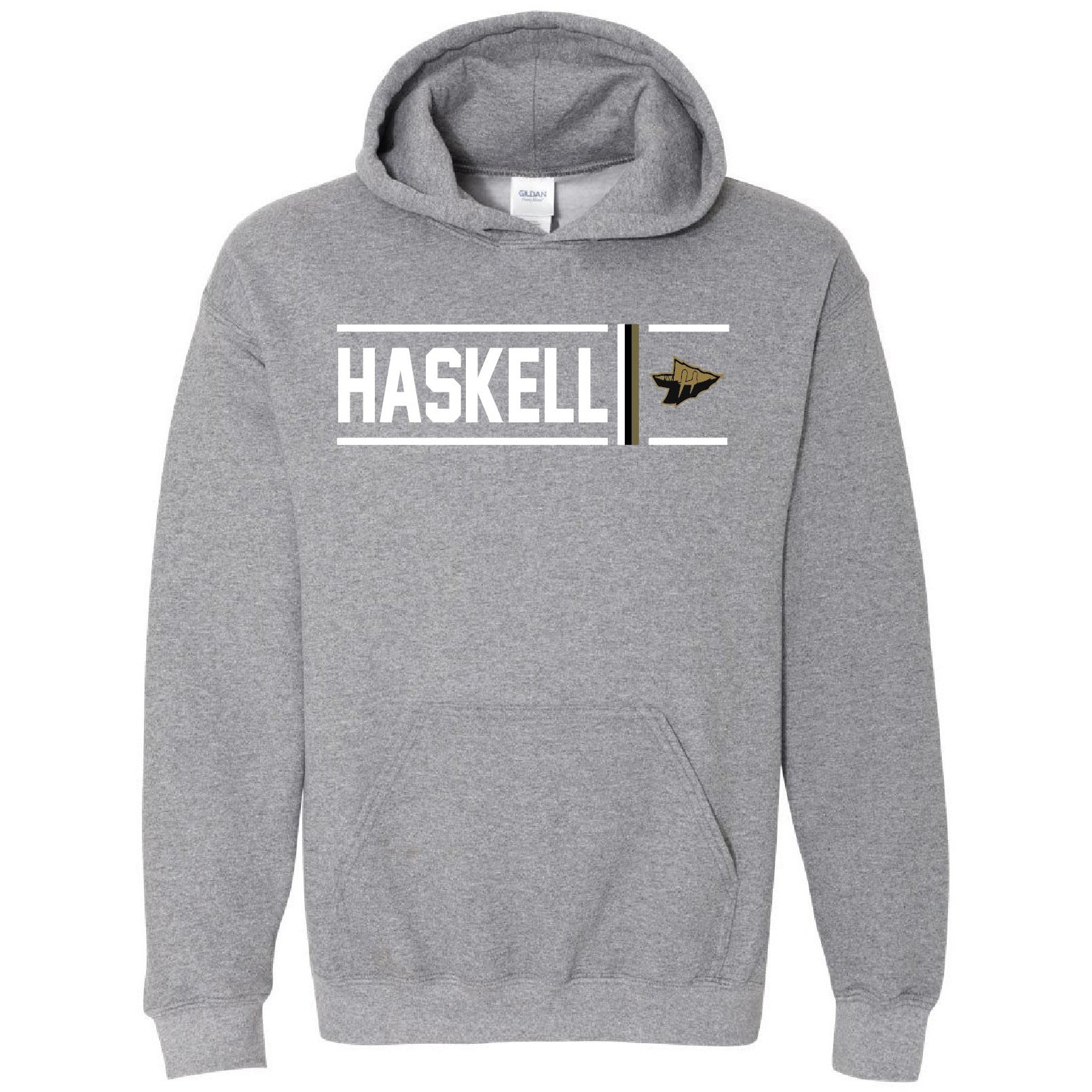 Haskell Indians - Simple Stripe Hoodie