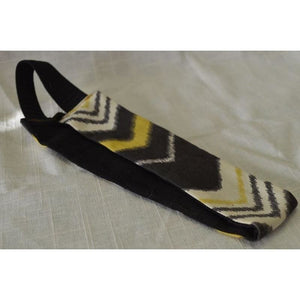 Headband - Chevron/Black