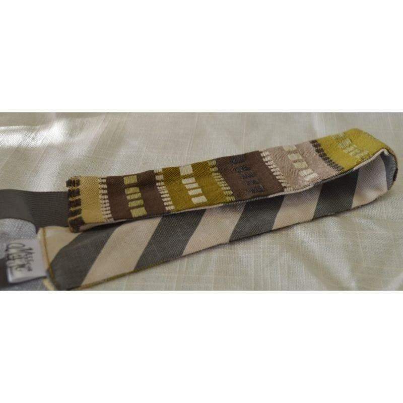 Headband - Brown Squares/Chevron