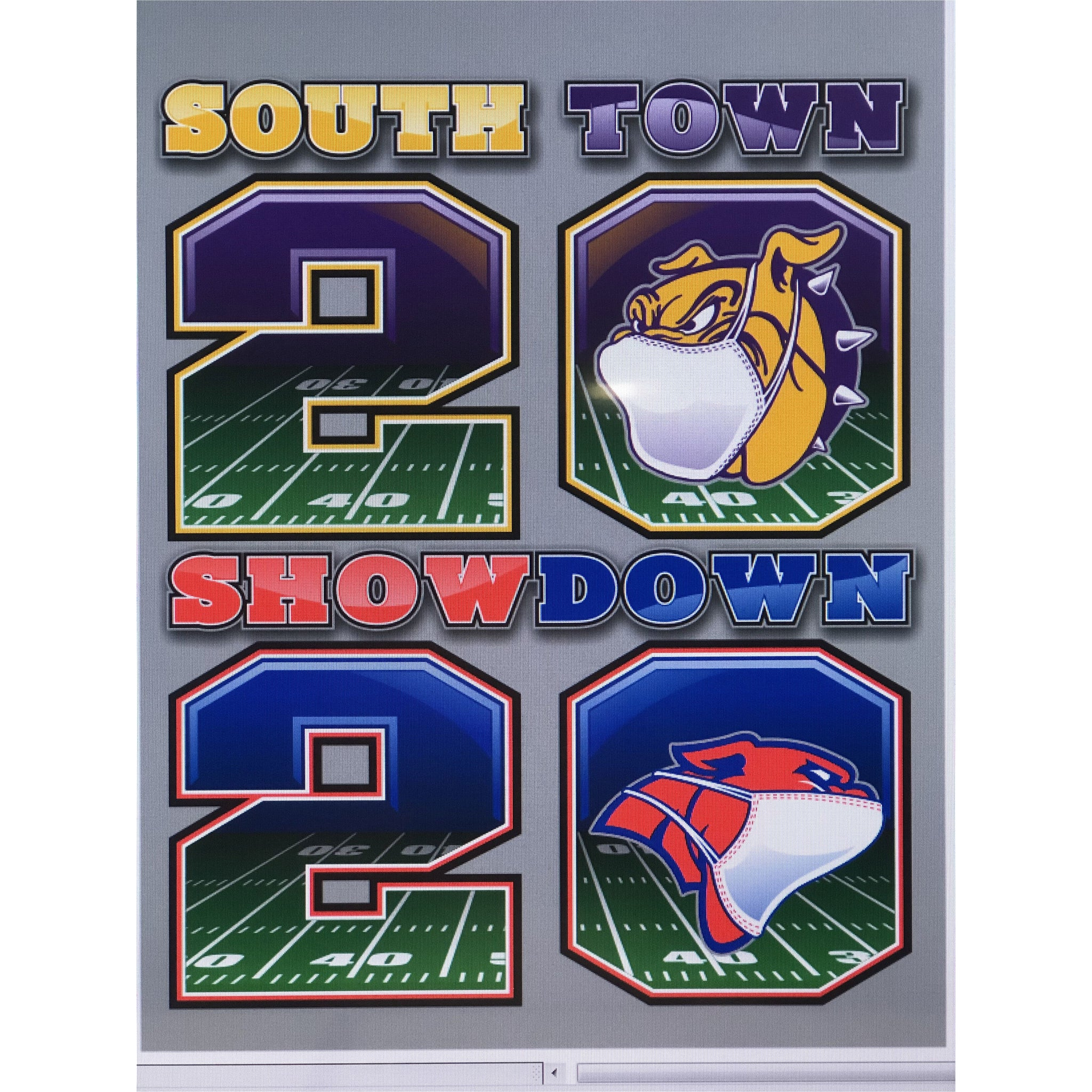 South Town Showdown 2020 Tees