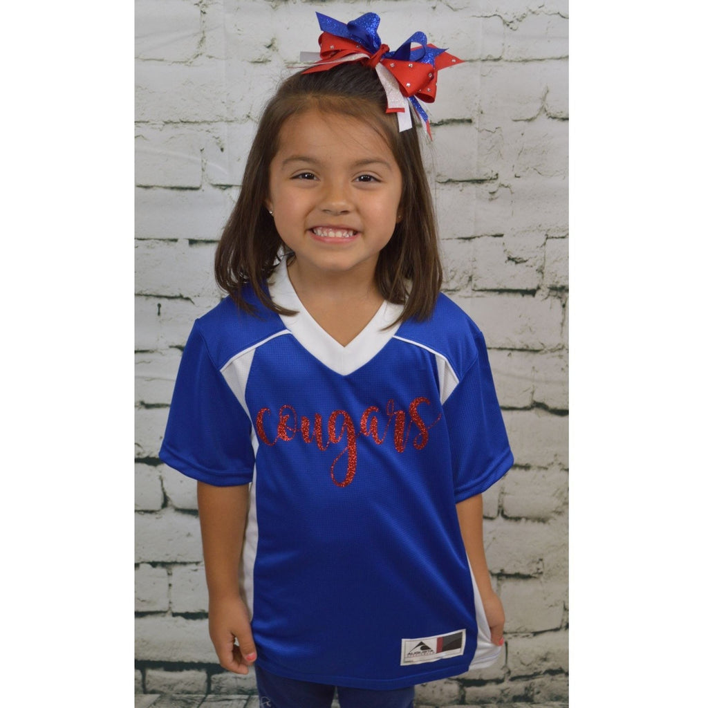 Cooper Cougars - Little Girls Jersey