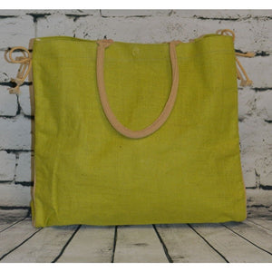 Lime Shopper Tote