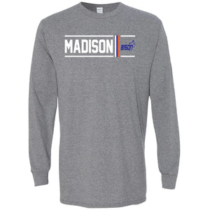 Madison Bison - Simple Stripe Long Sleeve T-Shirt