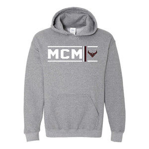 McMurry University War Hawks - Simple Stripe Hoodie