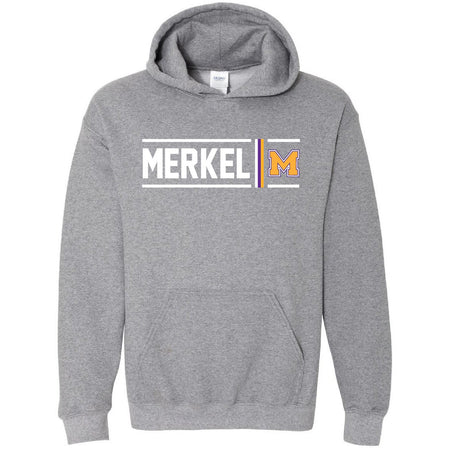 Merkel Badgers - Simple Stripe Hoodie