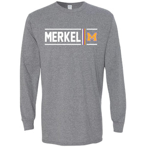 Merkel Badgers - Simple Stripe Long Sleeve T-Shirt